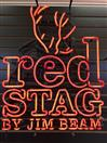 Jim Beam RED STAG NEON Sign